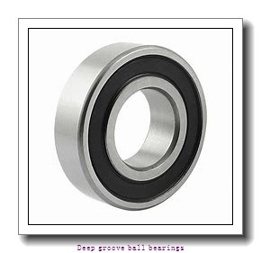 100 mm x 150 mm x 24 mm  skf 6020-RS1 Deep groove ball bearings