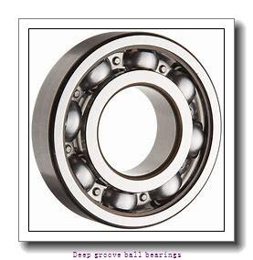 850 mm x 1220 mm x 165 mm  skf 60/850 MB Deep groove ball bearings