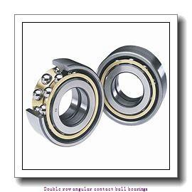 35 mm x 72 mm x 27 mm  SNR 5207ZZG15C3D159QTX Double row angular contact ball bearings