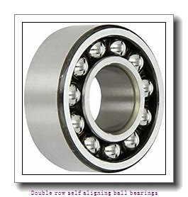 30 mm x 72 mm x 19 mm  NTN 1306SKC3 Double row self aligning ball bearings
