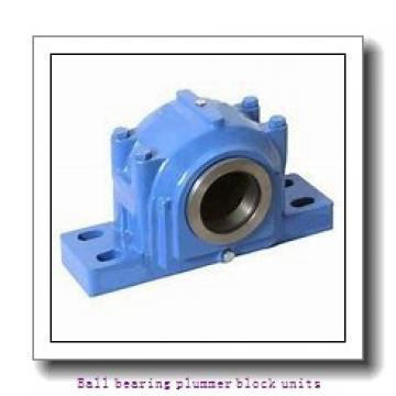 2.188 Inch | 55.575 Millimeter x 2.189 Inch | 55.601 Millimeter x 2.5 Inch | 63.5 Millimeter  skf P2B 203-TF Ballbearing plummer block units