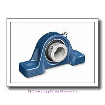 0.7500 in x 97 mm x 21 mm  skf P2B 012-FM Ballbearing plummer block units