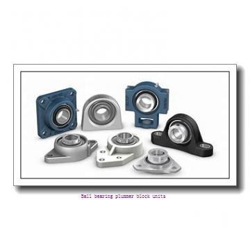 1.9375 in x 157 mm x 34 mm  skf P2B 115-FM Ballbearing plummer block units