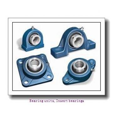 25 mm x 52 mm x 34.8 mm  SNR EX.205.G2 Bearing units,Insert bearings