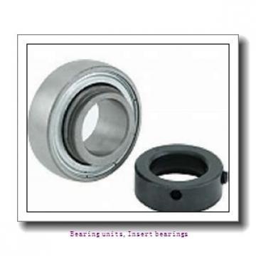 12.7 mm x 47 mm x 34 mm  SNR EX201-08G2L3 Bearing units,Insert bearings