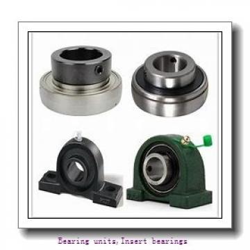 28.58 mm x 62 mm x 36.4 mm  SNR EX206-18G2L3 Bearing units,Insert bearings