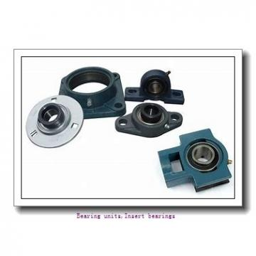 12.7 mm x 47 mm x 34 mm  SNR EX201-08G2 Bearing units,Insert bearings