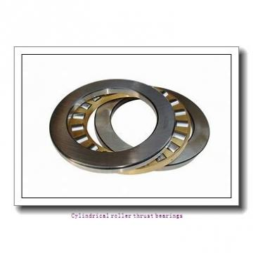 480 mm x 650 mm x 39.5 mm  skf 81296 M Cylindrical roller thrust bearings