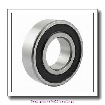 80 mm x 170 mm x 39 mm  skf 6316 Deep groove ball bearings