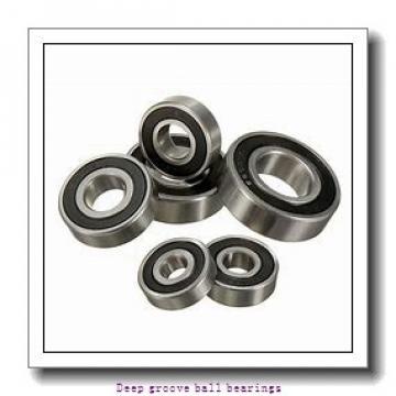 90 mm x 160 mm x 30 mm  skf 6218-RS1 Deep groove ball bearings