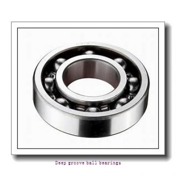 15 mm x 32 mm x 9 mm  skf W 6002 Deep groove ball bearings