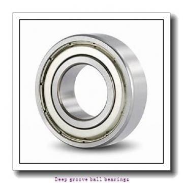 5 mm x 10 mm x 4 mm  skf WBB1-8705 R-2Z Deep groove ball bearings
