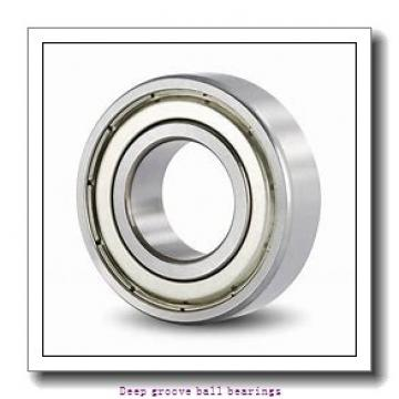 85 mm x 130 mm x 22 mm  skf 6017-2Z Deep groove ball bearings