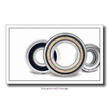 30 mm x 72 mm x 19 mm  skf W 6306-2RZ Deep groove ball bearings