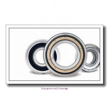 6.35 mm x 19.05 mm x 7.142 mm  skf D/W R4A-2RZ Deep groove ball bearings