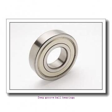 30 mm x 62 mm x 16 mm  skf 206 Deep groove ball bearings