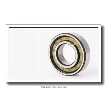 85 mm x 130 mm x 22 mm  skf 6017-RS1 Deep groove ball bearings