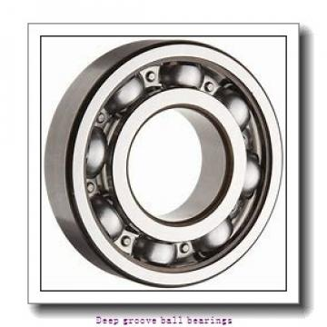30 mm x 72 mm x 19 mm  skf 6306 Deep groove ball bearings