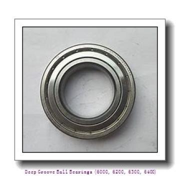 timken 6018-2RS Deep Groove Ball Bearings (6000, 6200, 6300, 6400)