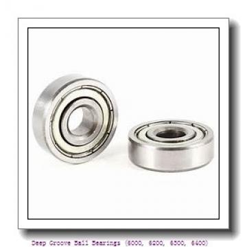 timken 6014-2RZ Deep Groove Ball Bearings (6000, 6200, 6300, 6400)