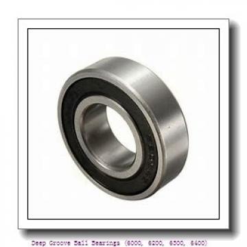 timken 6318-ZZ Deep Groove Ball Bearings (6000, 6200, 6300, 6400)