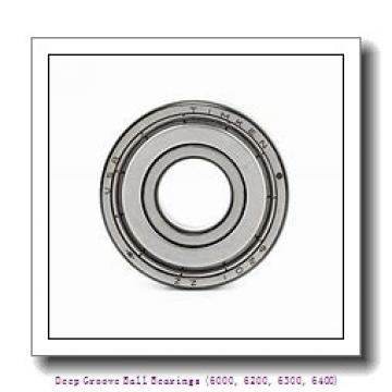 timken 6206-NR Deep Groove Ball Bearings (6000, 6200, 6300, 6400)