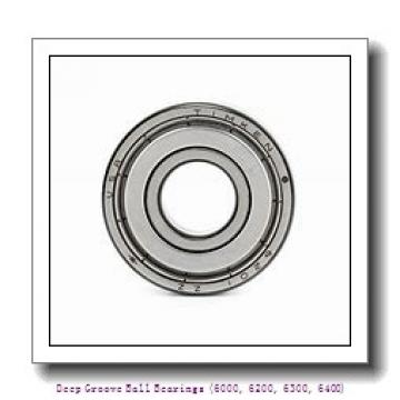 timken 6318-2RZ Deep Groove Ball Bearings (6000, 6200, 6300, 6400)