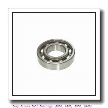 timken 6017-2RS Deep Groove Ball Bearings (6000, 6200, 6300, 6400)