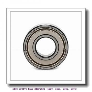 timken 6017-NR Deep Groove Ball Bearings (6000, 6200, 6300, 6400)
