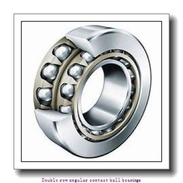 25,000 mm x 62,000 mm x 25,400 mm  SNR 5305EEG15 Double row angular contact ball bearings
