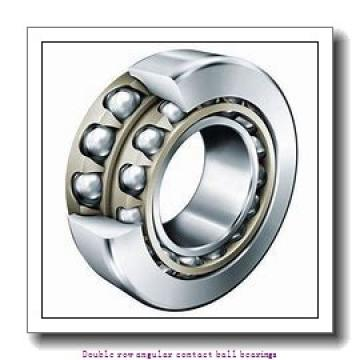 25 mm x 62 mm x 25.4 mm  SNR 3305AC3 Double row angular contact ball bearings