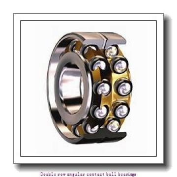 40,000 mm x 90,000 mm x 36,500 mm  SNR 3308B Double row angular contact ball bearings