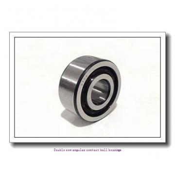 70,000 mm x 125,000 mm x 39,700 mm  SNR 5214ZZG15 Double row angular contact ball bearings