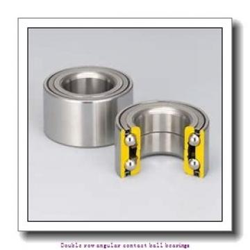 20 mm x 47 mm x 20.6 mm  SNR 3204AC3 Double row angular contact ball bearings