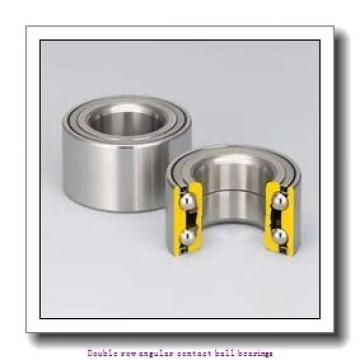 30 mm x 62 mm x 23.8 mm  SNR 3206BC3 Double row angular contact ball bearings
