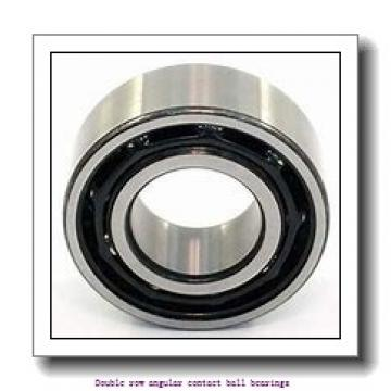 45,000 mm x 85,000 mm x 30,200 mm  SNR 5209NRZZG15 Double row angular contact ball bearings