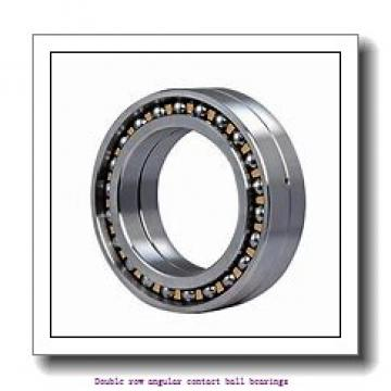 55,000 mm x 100,000 mm x 33,300 mm  SNR 5211NRZZG15 Double row angular contact ball bearings