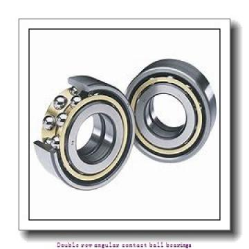 12,000 mm x 32,000 mm x 15,900 mm  SNR 3201A Double row angular contact ball bearings