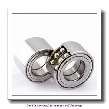 60,000 mm x 130,000 mm x 54,000 mm  SNR 3312A Double row angular contact ball bearings