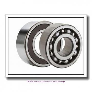 30,000 mm x 62,000 mm x 23,800 mm  SNR 5206ZZG15 Double row angular contact ball bearings