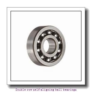 25 mm x 62 mm x 17 mm  SNR 1305G15C3 Double row self aligning ball bearings