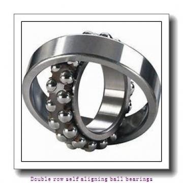 25 mm x 62 mm x 17 mm  NTN 1305SC3 Double row self aligning ball bearings