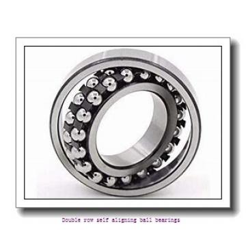 25 mm x 62 mm x 17 mm  NTN 1305SKC3 Double row self aligning ball bearings