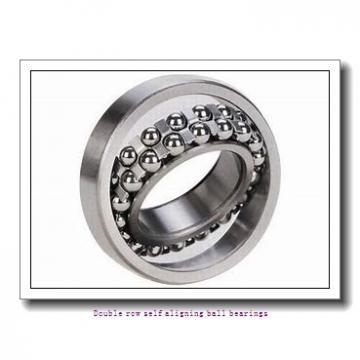 30 mm x 72 mm x 19 mm  NTN 1306SKC3 Double row self aligning ball bearings