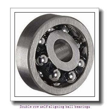 30 mm x 72 mm x 19 mm  NTN 1306SK Double row self aligning ball bearings