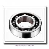 100 mm x 150 mm x 24 mm  skf 6020 N Deep groove ball bearings