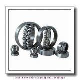 25,000 mm x 52,000 mm x 18,000 mm  SNR 2205EEG15 Double row self aligning ball bearings