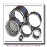 NTN BK2016D Drawn cup needle roller bearings-closed end